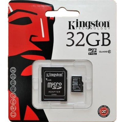 Kingston mikro SD mem. 32GB CL4